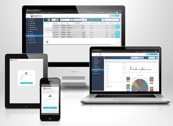 Tính năng phần mềm quản trị/quản lý.