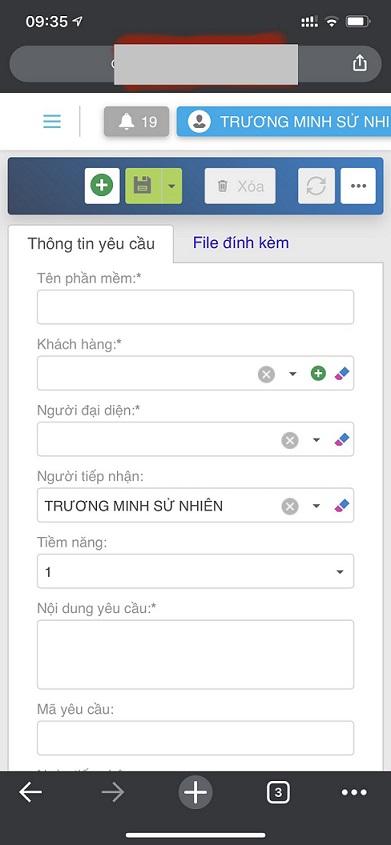 Phần mềm chạy trên điện thoại Web Responsive